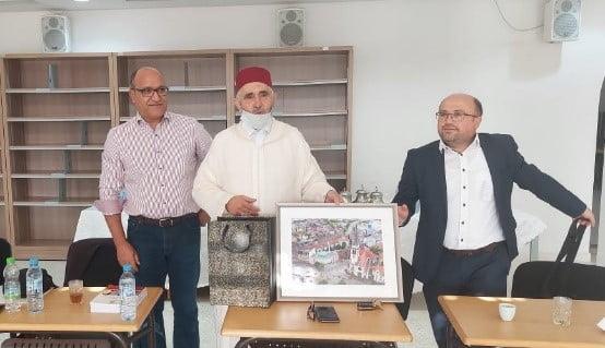 حول زيارة وفد من المجلس الألماني المغربي